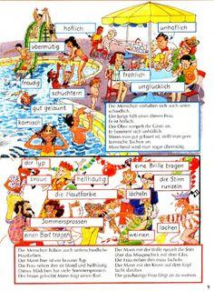 Bildwörterbuch deutsch Foreign Language Teaching, German Language Learning, Classroom Language, German Grammar, German Words, Picture Comprehension, German Resources, Study German, Germany Language