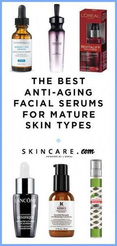 Looking for the best anti-aging facial serums for mature skin types? Look no further than these 6 anti-aging facial serums that can target premature signs of aging such as wrinkles, fine lines, dark spots, and more! Click here to see the best anti-aging facial serums. #FaceCreamForWrinkles