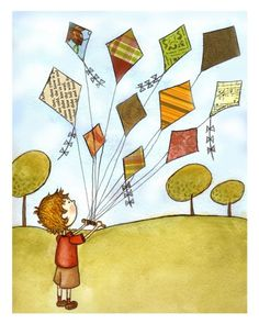 Let's go fly a kite, up to the highest height!