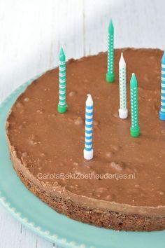 Supersnel Toblerone taartje