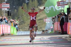 Giro d'Italia 2016 stage 20: The Estonian rider Rein Taaramae (Team Katusha) has won Stage 20, 134km from Guillestre to Sant'Anna di Vinadio. Darwin Atapuma (BMC Racing Team ) finished second, with Joe Dombrowski (Cannondale Pro Cycling) third.