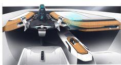 ANTHONY MORIER: 4th Year / Citroen DS Partnership DS horizon /...