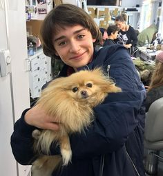 Stranger Things Behind the Scenes Season 3 with Noah Schnapp, Will Byers, Dog, On the Set Stranger Things Fotos, Stranger Things Funny, Stranger Things Netflix, Stranger Things Season, My Future Boyfriend, To My Future Husband, Dear Future, Georgie, Noah