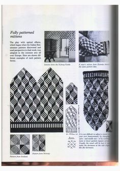 Knitting in the Nordic Tradition – Monika Romanoff – Picasa Nettalbum Knit Mittens, Knitting Socks, Hand Knitting, Knitting Charts, Knitting Patterns, Fair Isles, Vintage Knitting, Craft Patterns, Knit Crochet