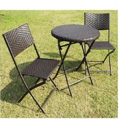 Outdoor Dining Set Patio Furniture Bistro Table Chairs  #RusticPrimitive