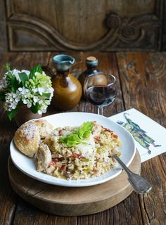Chicken and leek is a wonderfully nurturing combination – add pancetta, garlic, thyme and Parmesan and you're onto a winner.