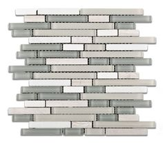 Midtown Tempest Stone and Glass Mix Random Strip Blend Mosaic Tile - Box of 5 Sheets by Oracle, http://www.amazon.com/dp/B008YGACBO/ref=cm_sw_r_pi_dp_sMNSqb13VACK6