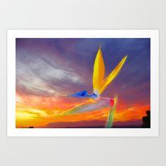 Sunset Flow Art Print by crismanart Flow Arts, Photo Art, My Photos, Art Prints, Sunset, Artwork, Painting, Art Impressions, Sunsets