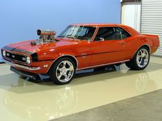 """1968 Chevrolet Camaro.  I owned a """"68"""" stripped off all the paint, planed to paint it candy apple red, what ever happened????????"""