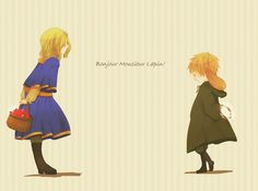 Hetalia: France and England