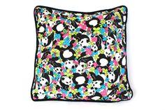 PANDA DESIGNER PILLOW .  Accent Pillow. Reverses by CloudHunterCo, $72.00