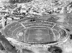 The Centenario in Montevideo plays host to the very first World Cup final in 1930 between ...