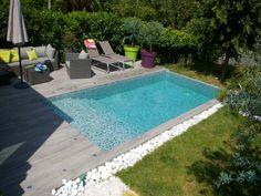 13 meilleures images du tableau piscine et d coration rectangle pool swiming pool et gardens. Black Bedroom Furniture Sets. Home Design Ideas