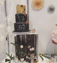 Vintage boho wedding Hochzeitstorte Cupcakes cakepops