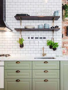 Casinha colorida: Mais um apartamento sueco