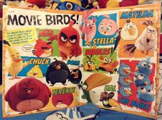 I've been thinking, you know how they have Angry Birds Toons? They should redo those, but this time with the movie characters. It would be awesome if they did, they could use it on the bonus features when it comes out on DVD.