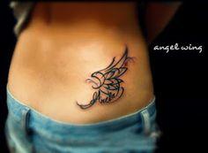 Free Tattoo Designs: Angel wing tattoo designs for girls