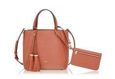 Brown Soft Satchel | Shop Online BONIA