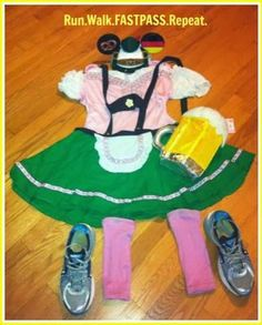 My Wine and Dine Half Marathon Race Costume - Run Walk Repeat Run Disney Costumes, Food Costumes, Running Costumes, Disney Cosplay, Costume Ideas, Disney Tutu, Disney Races, Disney Princess Half Marathon, Disney Marathon