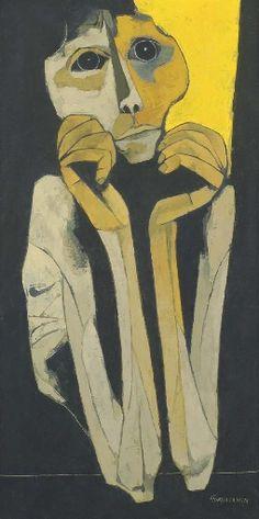 Artworks of Oswaldo Guayasamín (Ecuadorian, 1916 - 1999)