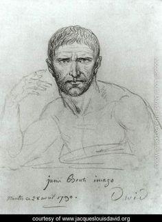 Brutus - Jacques Louis David - www.jacqueslouisdavid.org