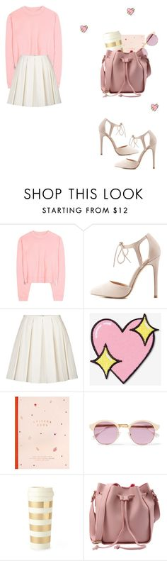 """3"" by yesyes-1 ❤ liked on Polyvore featuring Acne Studios, Charlotte Russe, RED Valentino, Big Bud Press, kikki.K, Sheriff&Cherry and Kate Spade"