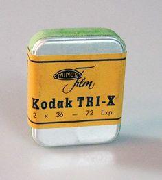 Minox Film Kodak Tri x Vintage