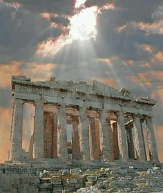 Athens Greece- The Acropolis.      We thought this was so beautiful