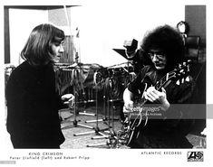 """""""Peter Sinfield and Robert Fripp   King Crimson """""""