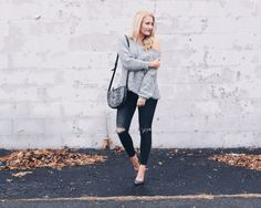 CHUNKY KNIT OFF THE SHOULDER SWEATER | Glitz