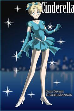 Cinderella as a Sailor Moon character Sailor Princess, Princess Art, Anime Princess, Princess Outfits, Disney Princess Pictures, Disney Pictures, Disney Girls, Disney Love, Pixar