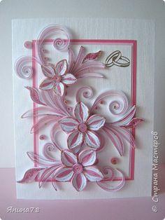 Под впечатлением работ Nelli http://nelika-neli.blogspot.com/ сделала такую открытку. фото 1