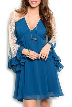 Sexy Chiffon Lace Dress