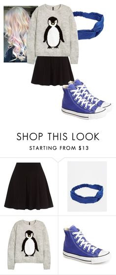 """""""winter girl"""" by flashinglights-397 on Polyvore featuring Pieces and Converse"""