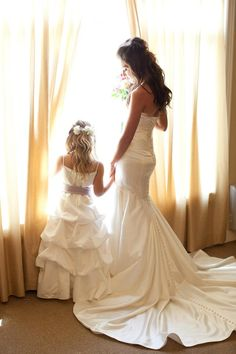flower girl/bride