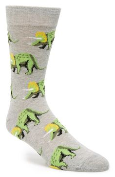 Free shipping and returns on Topman 'Triceratops' Stretch Cotton Socks at Nordstrom.com. Don't settle for anything less than triceratops-patterned socks when finishing off your gentlemanly look.