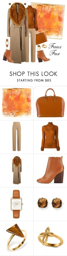 """""""Always Faux .... Never Real!"""" by krusie ❤ liked on Polyvore featuring Home Decorators Collection, Louis Vuitton, Emilia Wickstead, MARIOS, Helmut Lang, Tory Burch, MICHAEL Michael Kors, Kevin Jewelers, Ona Chan and Allurez"""