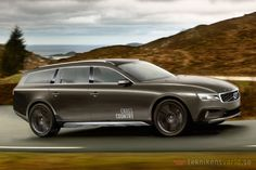 Volvo V90 Cross Country concept from 2013, visioning 2015.