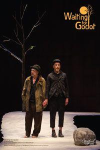 Poster Waiting for Godot - Stratford 2013