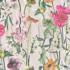 Masson Fuchsia Fabric | Designers Guild