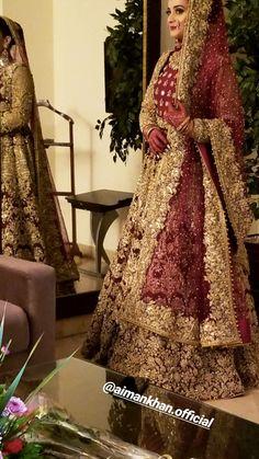 Pakistani Bridal Makeup, Pakistani Wedding Outfits, Pakistani Wedding Dresses, Bridal Outfits, Indian Bridal, Dulhan Dress, Nikkah Dress, Mehndi Dress, Pakistan Bride
