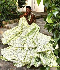 Lupita Lovely in Giambattista Valli Haute Couture 9 Autumn/Winter...