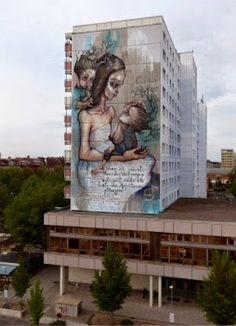 by Herakut in Berlin, 5/15 (LP)