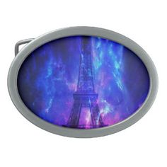 Creation's Heaven Paris Amethyst Dreams Oval Belt Buckle
