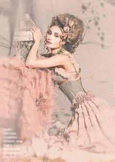 Raindrops and Roses Mode Rococo, Rococo Style, Marie Antoinette, Raindrops And Roses, Rococo Fashion, Madame, Burlesque, Pink Grey, Steampunk