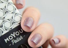 Lust und Laune Lack | White Stripes