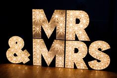 Mr. + Mrs. Sign