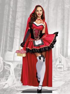 Little Red Women's Costume