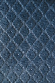 Cassandre Velvet Damask  Embossed Teal velvet upholstery fabric with small geometric design. Suitable For Contract Curtains and Upholstery.