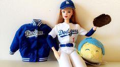 THINK BLUE: It's time for #Dodgers baseball!  .  #dodgersbarbie #dodgersblue #itfdb #LosAngelesDodgers #tsumtsums #tsumtsum #tsum #tsumtsumJoy #Disneyland #CaliforniaAdventure  #pixar #disney #Insideout #Joy #disney60 #disneyland60 #waltdisney #annualpassholder #ap #tsumtsumsofDisney #tsumtsumsofInstagram by joy_at_disneyland